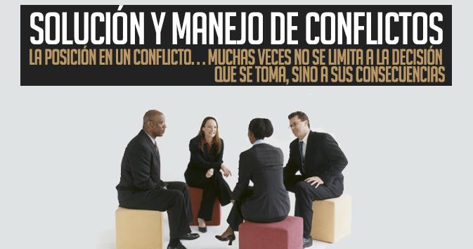 Solución y Manejo de Conflictos