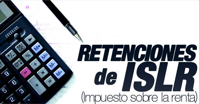 Retenciones de ISLR (Impuesto sobre la Renta)