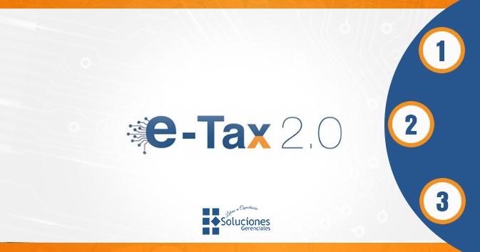 Diplomado: E-TAX 2.0 - Aprenda Todo Sobre la Nueva Plataforma Tributaria E-TAX 2.0, con los 3 Módulos que esta Certificación le Ofrece