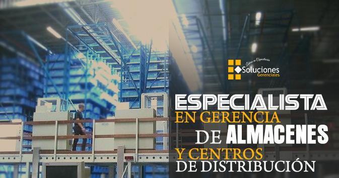 Diplomado: Especialista en Gerencia de Almacenes y Centros de Distribución  - Conviértete en un Especialista en Gerencia de Almacenes y Centro de Distribución