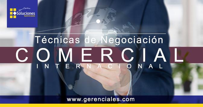 Técnicas de negociación comercial internacional