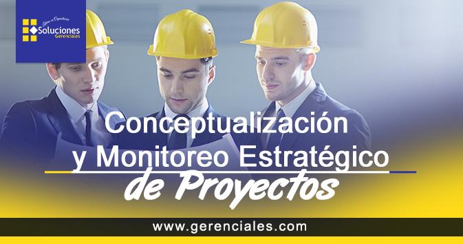 Conceptualización y Monitoreo Estratégico de Proyectos