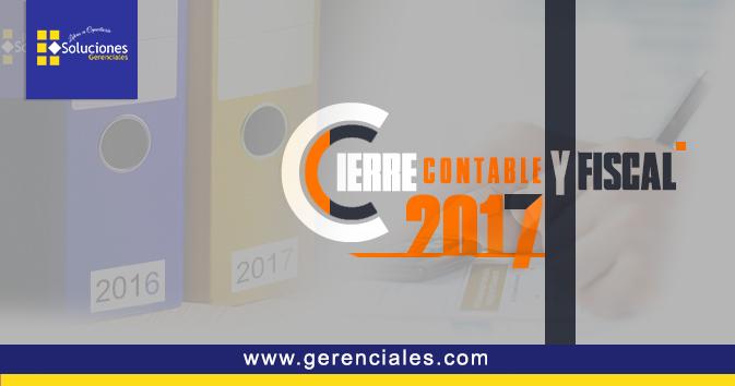 Cierre Contable y Fiscal 2017