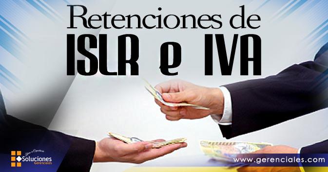 Retenciones de ISLR  e  IVA