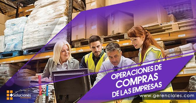 Operaciones de Compras de las Empresas