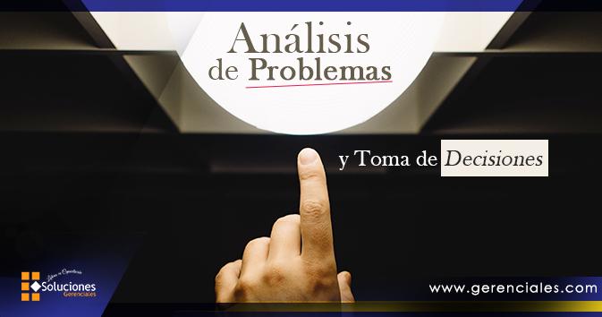 Análisis de Problemas y Toma de Decisiones  ONLINE