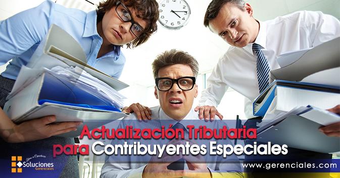 Actualización Tributaria para Contribuyentes Especiales  ONLINE