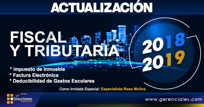 Actualización Fiscal y Tributaria 2018-2019