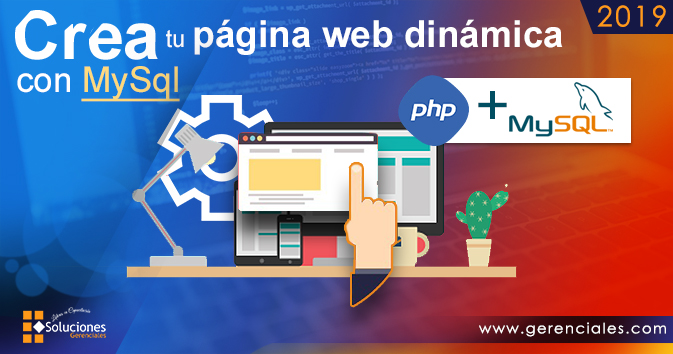 Crea Tu Página web Dinámica con MySql  ONLINE