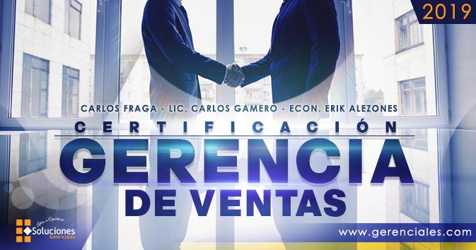 Gerencia de Ventas - con: Carlos Fraga