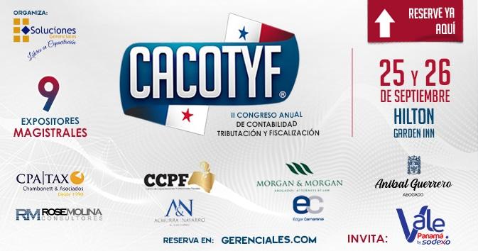 Anual de Contabilidad, Tributación y Fiscalización. CACOTYF - PANAMÁ 2019