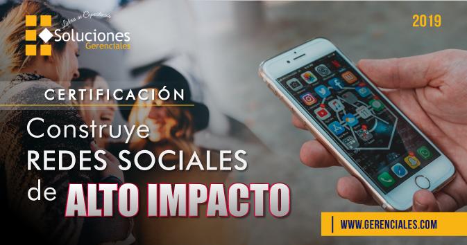 Construye Redes Sociales de Alto Impacto  ONLINE