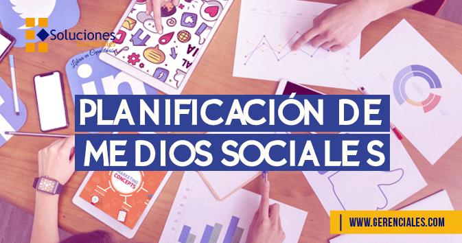 Planificación de Medios Sociales
