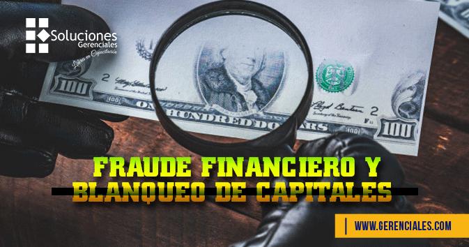 Fraude Financiero y Blanqueo de Capitales
