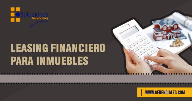 Leasing Financiero Para Inmuebles  ONLINE
