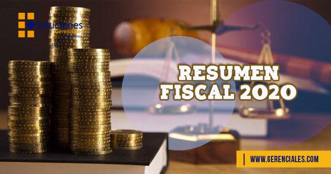 Resumen Fiscal 2020  ONLINE