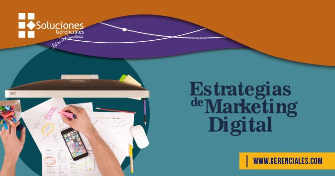 Estrategias De Marketing Digital  ONLINE