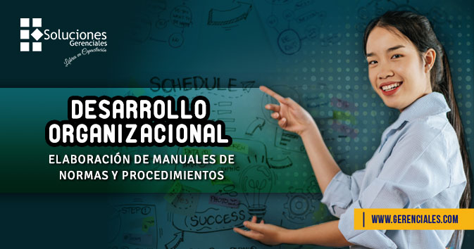 Desarrollo Organizacional - Elaboración de manuales de Normas y Procedimientos  ONLINE