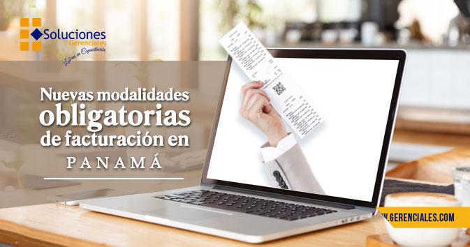 Nuevas Modalidades Obligatorias de Facturación en Panamá  ONLINE