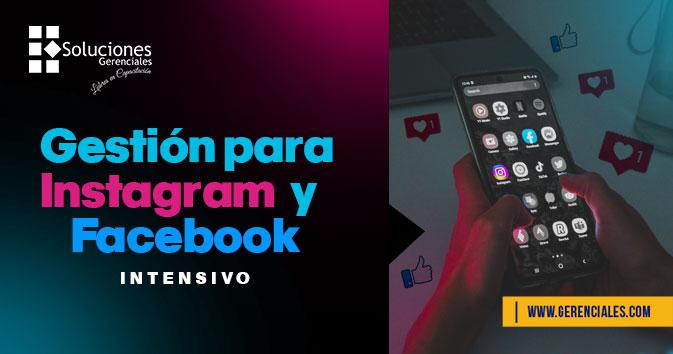 Gestión para Instagram y Facebook - Intensivo  ONLINE