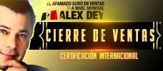 Conferencia: ALEX DEY / CIERRE DE VENTAS - CERTIFICACIÓN INTERNACIONAL - Aprende LA MAGIA DE LA NEGOCIACIÓN con uno de los mejores en el Campo de ventas.
