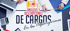 Análisis y Descripciones de Cargos en las organizaciones
