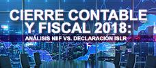 Cierre Contable y Fiscal 2018: Análisis NIIF vs. Declaración ISLR  ONLINE