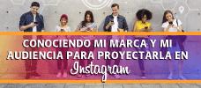 Conociendo mi Marca y mi Audiencia para Proyectarla en Instagram  ONLINE