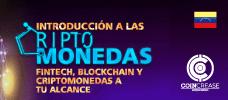 Jornada: Introducción a las Criptomonedas - Fintech, Blockchain y Criptomonedas a tu alcance - Adquiere un conocimiento amplio de los esquemas de pago, su usabilidad y las herramientas adecuadas para saber en cual criptomoneda invertir