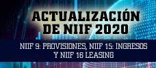 Actualización de NIIF 2020 - NIIF 9: Provisiones, NIIF 15: Ingresos Y NIIF 16 Leasing