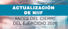 Actualización de NIIF, Antes del Cierre del Ejercicio 2020  ONLINE