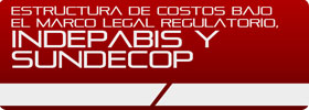 Estructura de Costos bajo el marco legal Regulatorio, INDEPABIS y SUNDECOP