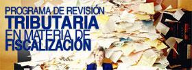 Programa de Revisión Tributaria en Materia de Fiscalización  ONLINE